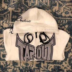 TapouT Men's Hoodie Zip Jacket - Simply Believe